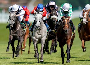 Cabaletta wins the Listed Aphrodite Stakes
